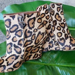 Sam Edelman Shoes - Sam Edelman leopard print booties